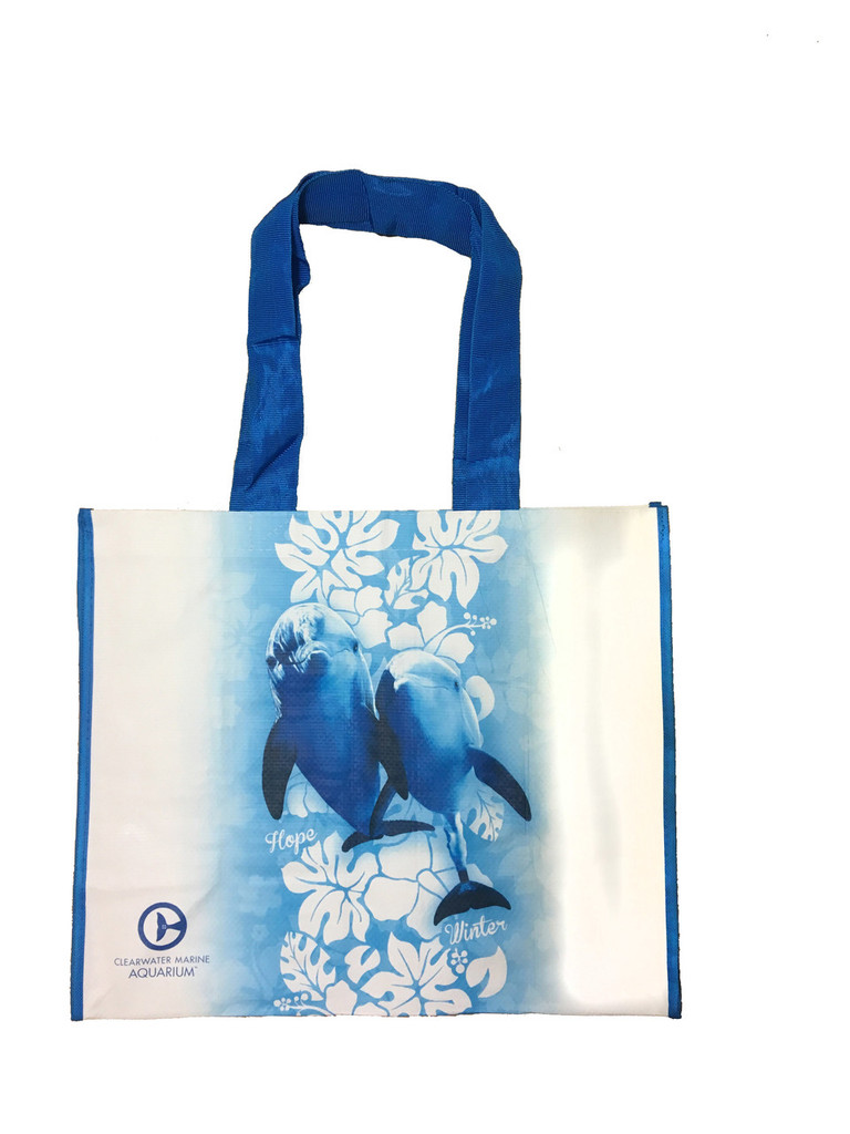 Winter & Hope Reusable Hibiscus Tote