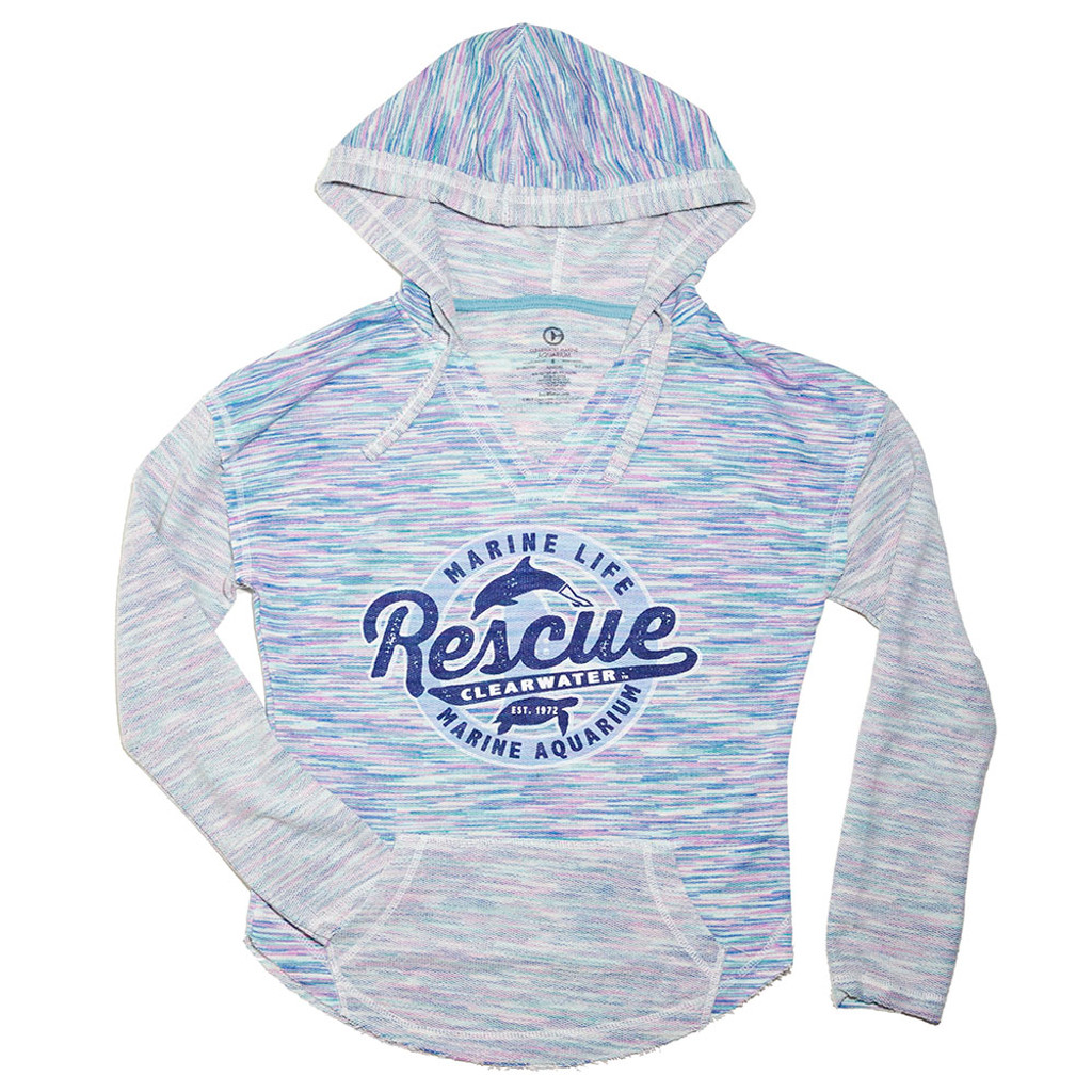 Rescue Baja Cotton Candy Juniors' Hoodie