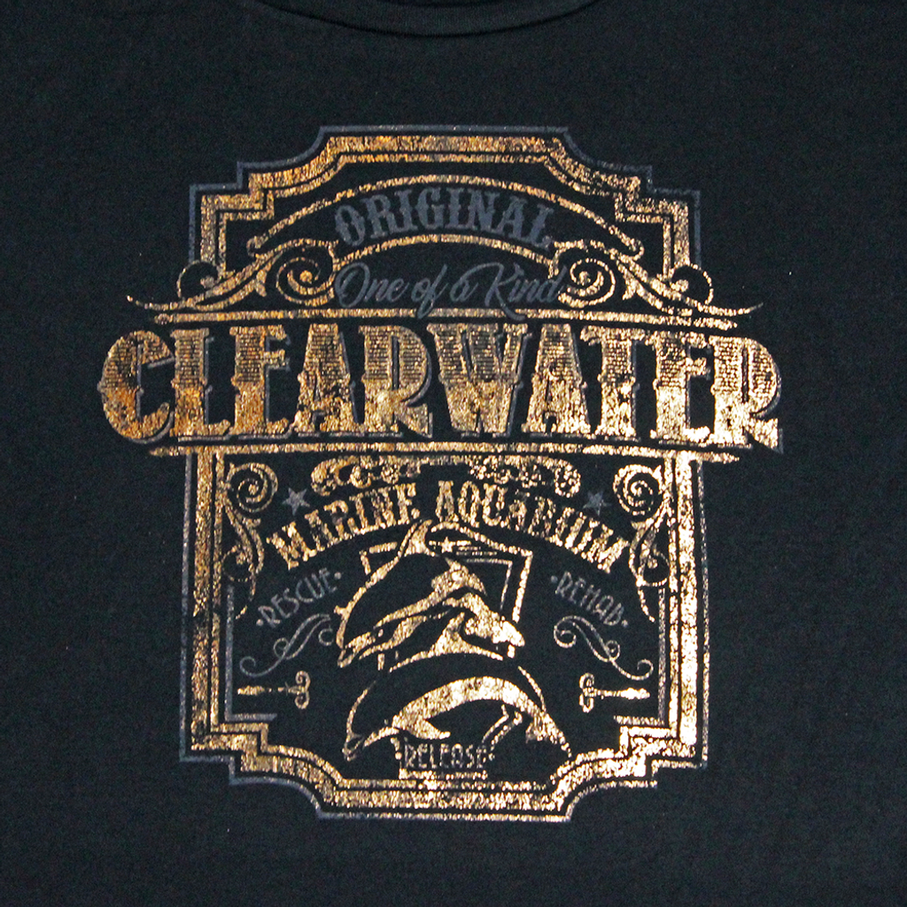 Original Clearwater Marine Aquarium Women's Foil Tee