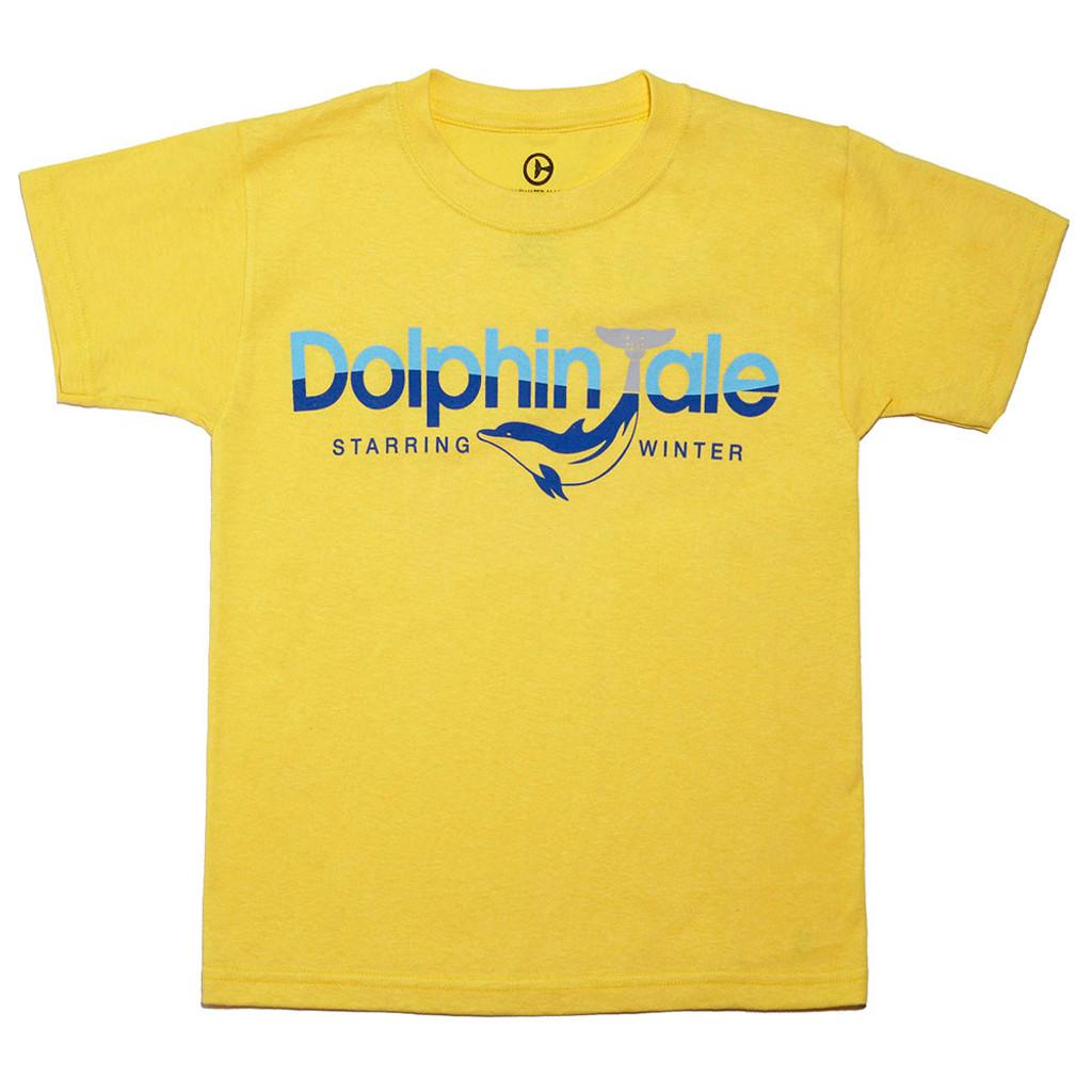 Dolphin Tale Logo Boys' Tee