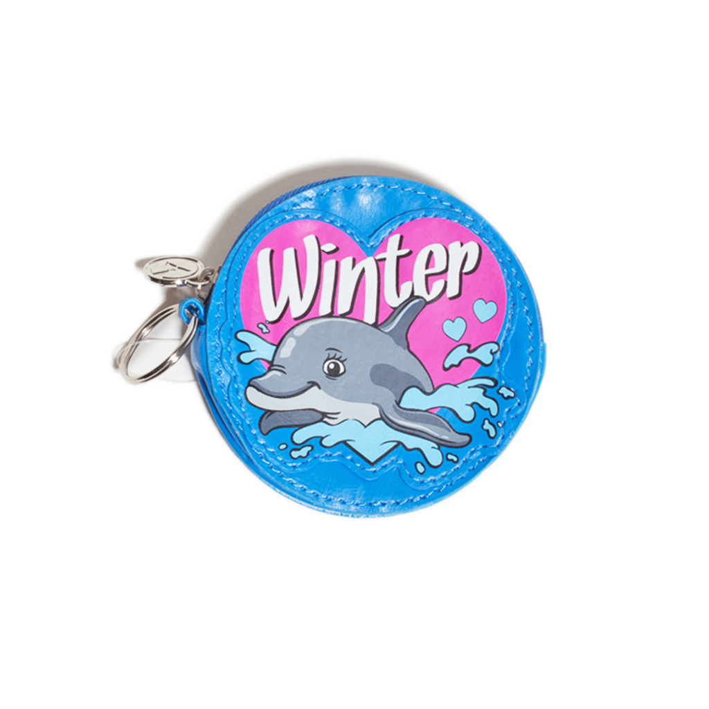 I Love Winter Coin Purse