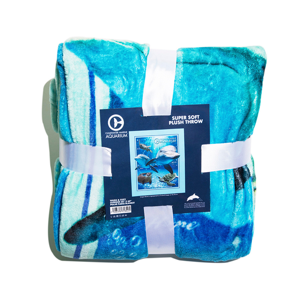 Clearwater Marine Aquarium Family Blanket