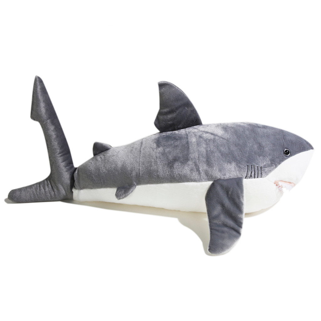Great White Shark Jumbo Plush Clearwater Marine Aquarium