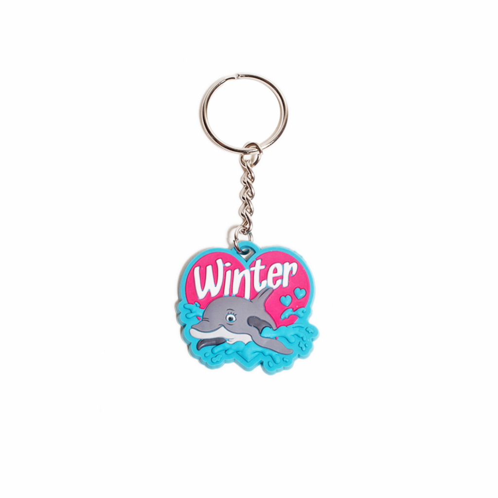 I Love Winter Keychain