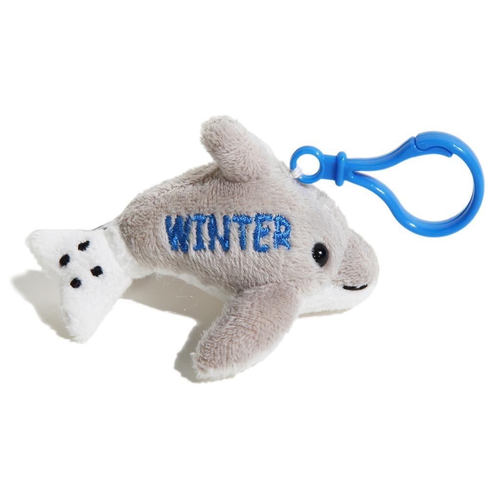 Winter the Dolphin Plush Keychain