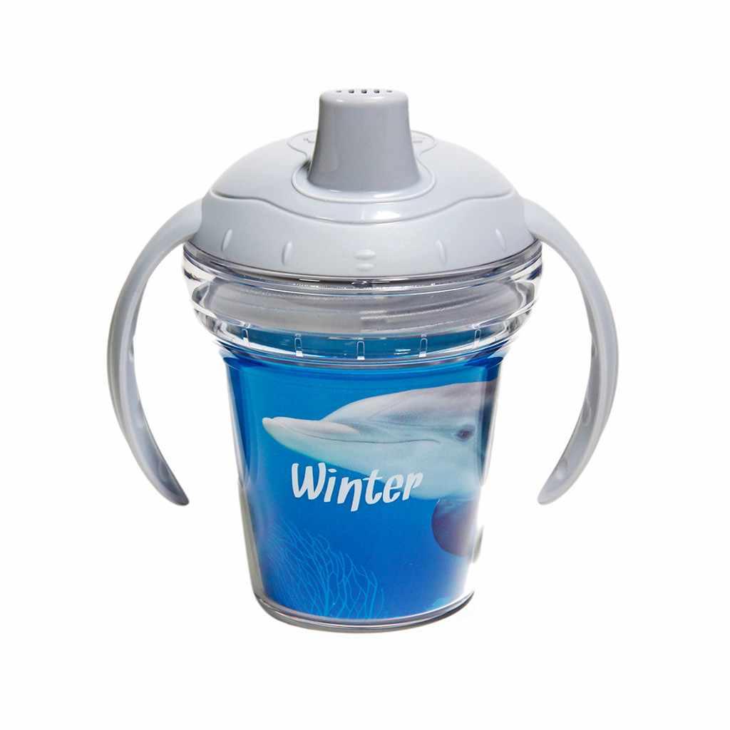 Tervis Winter the Dolphin Sippy Cup
