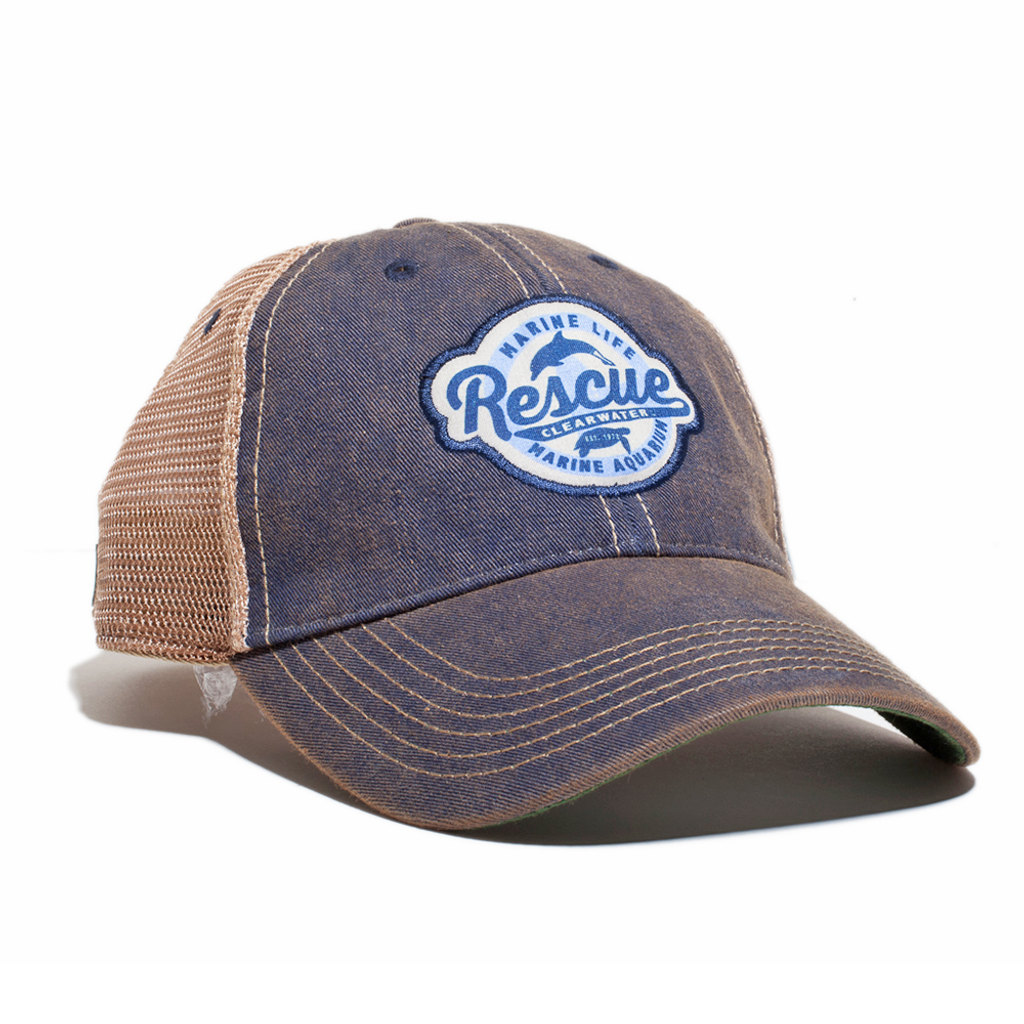 Retro Rescue Adjustable Trucker Hat