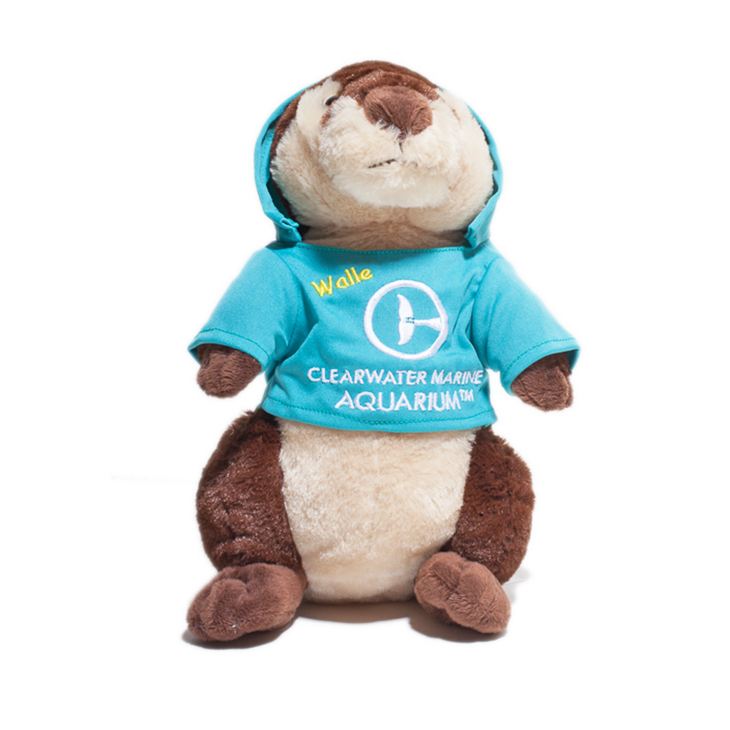 Walle the Otter Hoodie Plush