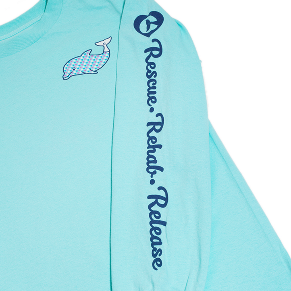Clearwater Marine Aquarium Love Winter Women's Long Sleeve Top
