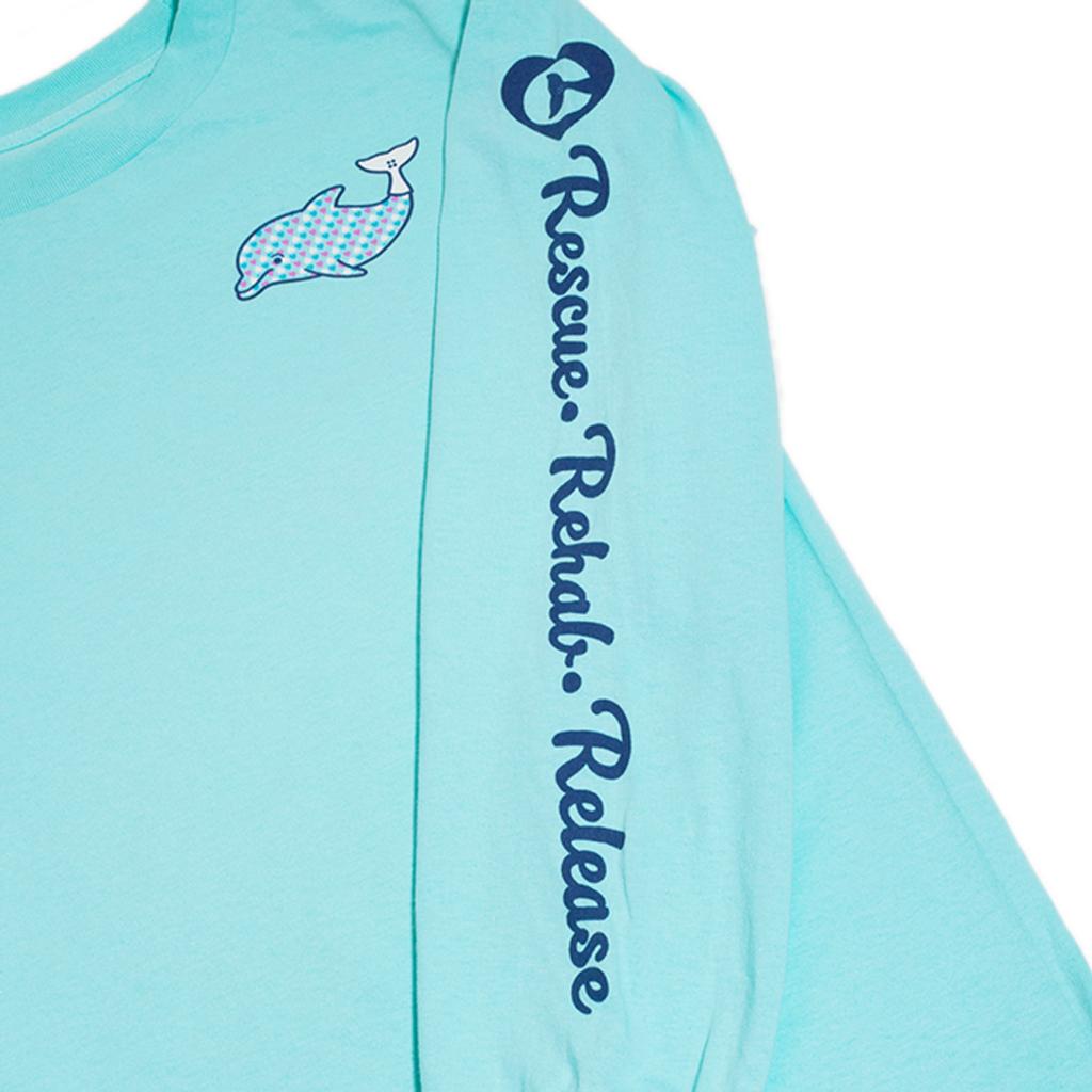 Clearwater Marine Aquarium Love Winter Women's Long Sleeve Top