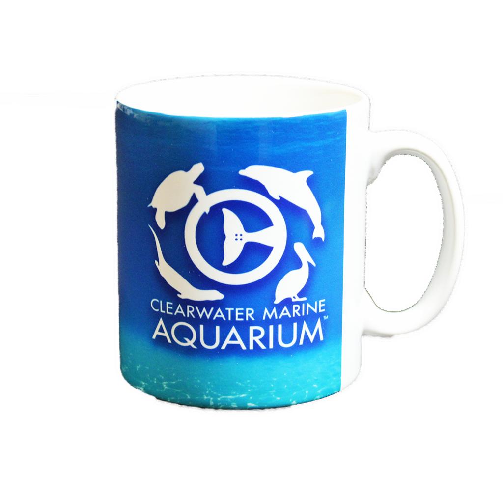 Clearwater Marine Aquarium Water Logo Mug