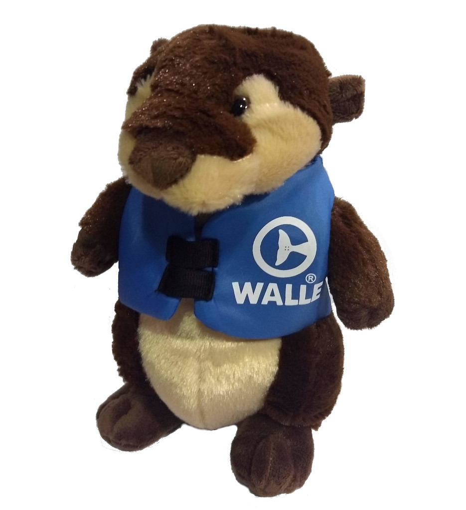 Walle the Otter Marine Life Rescue Life Vest Plush