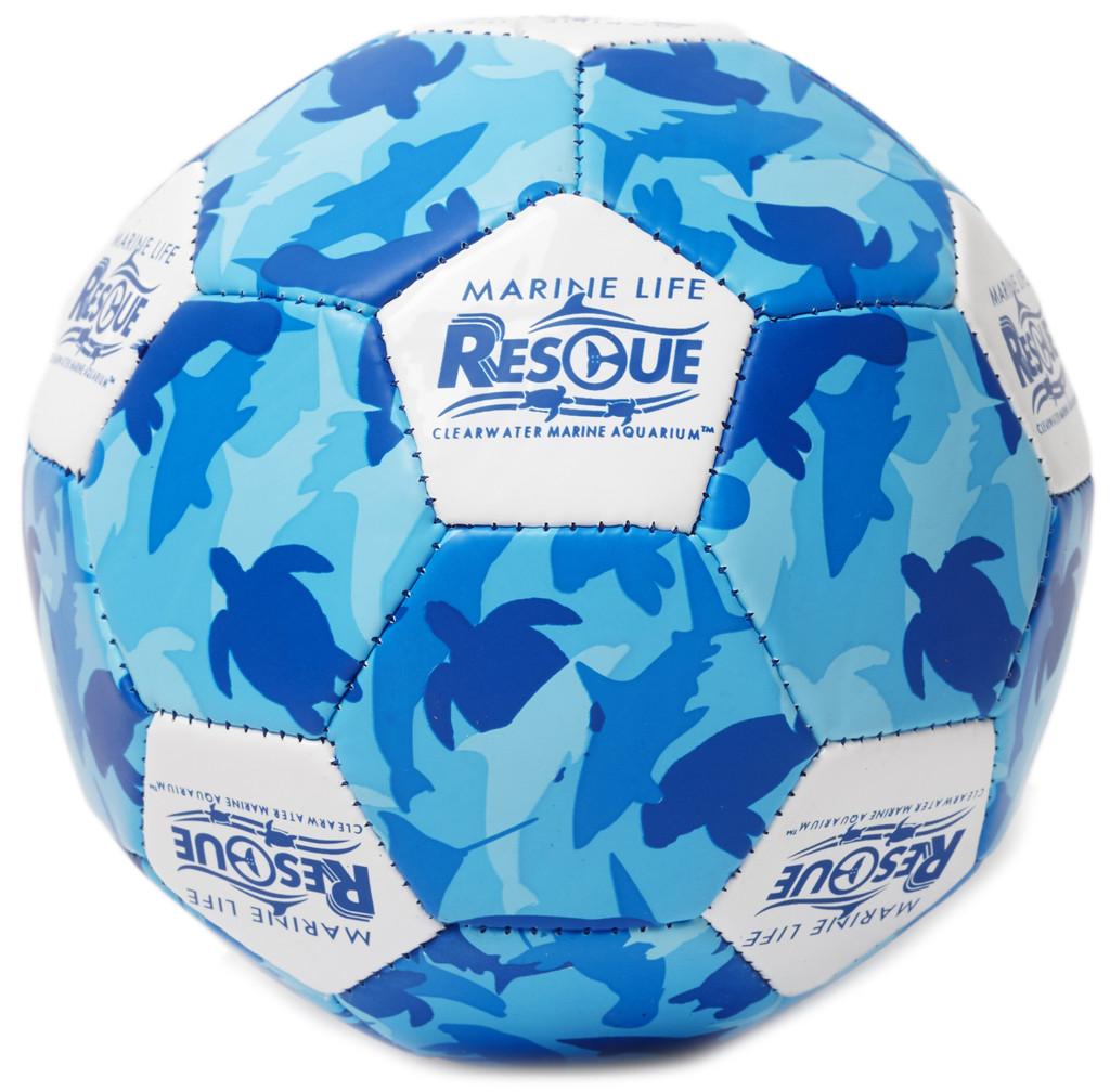 Marine Life Rescue Animal Camouflage  Mini Soccer Ball