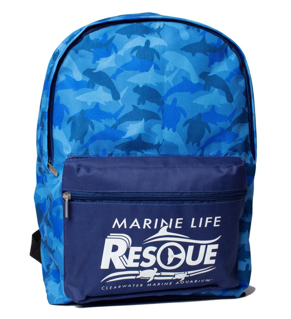 Marine Life Rescue Animal Camouflage Backpack