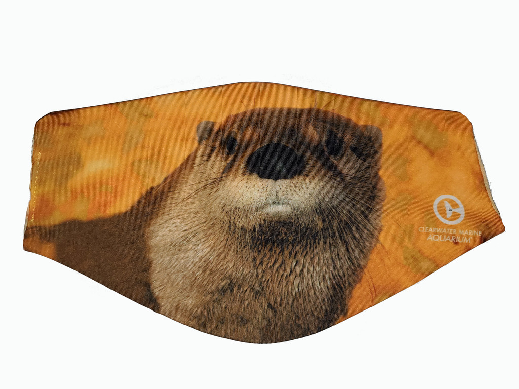 Clearwater Marine Aquarium Face Mask - Boomer the Otter