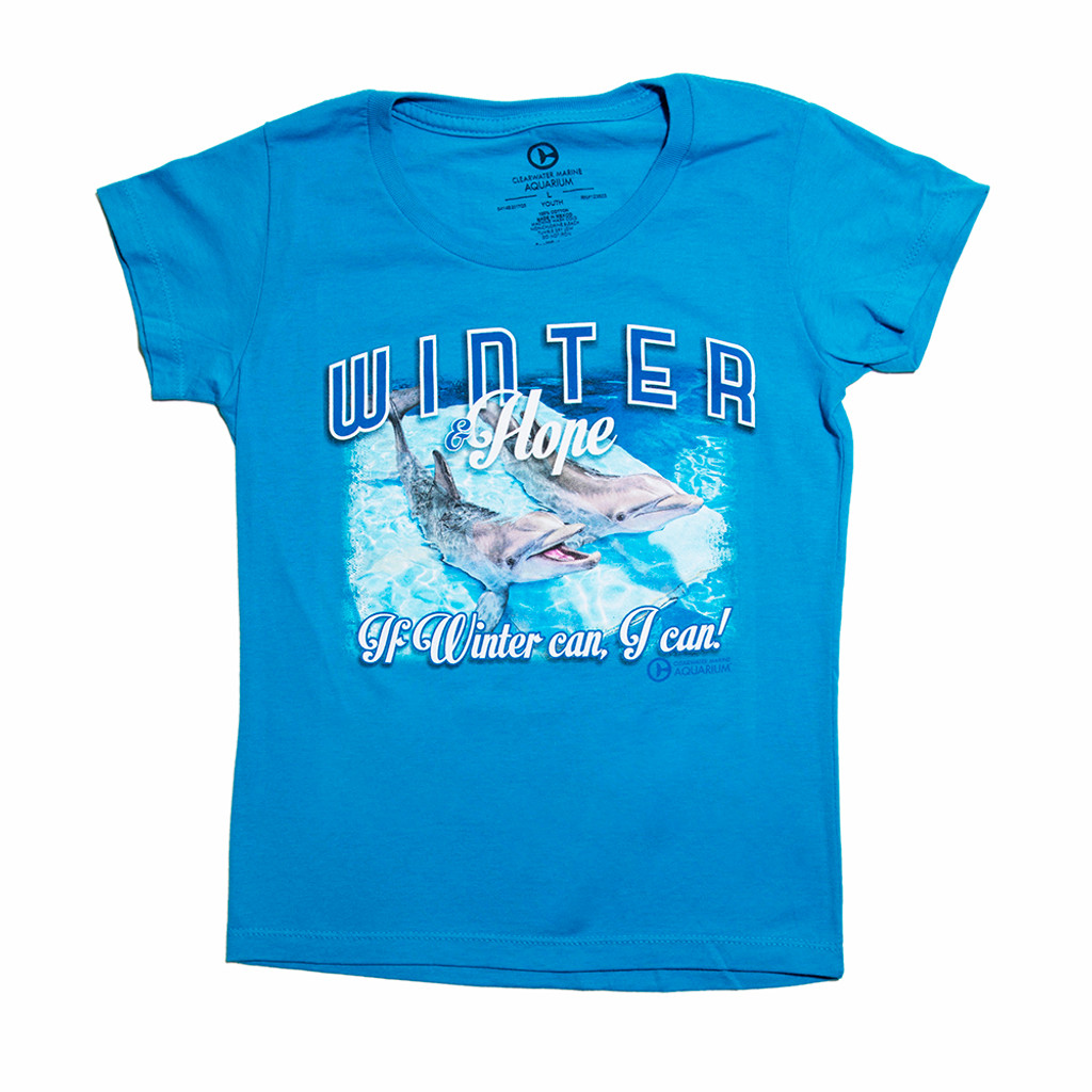 If Winter Can Hope Girls' Tee