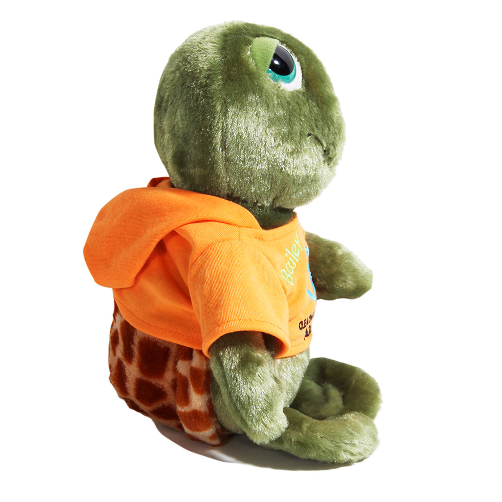 Bailey the Turtle Hoodie Plush