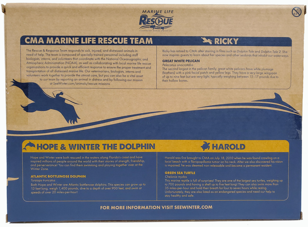 Marine Life Rescue Moveable Action Figure Playset