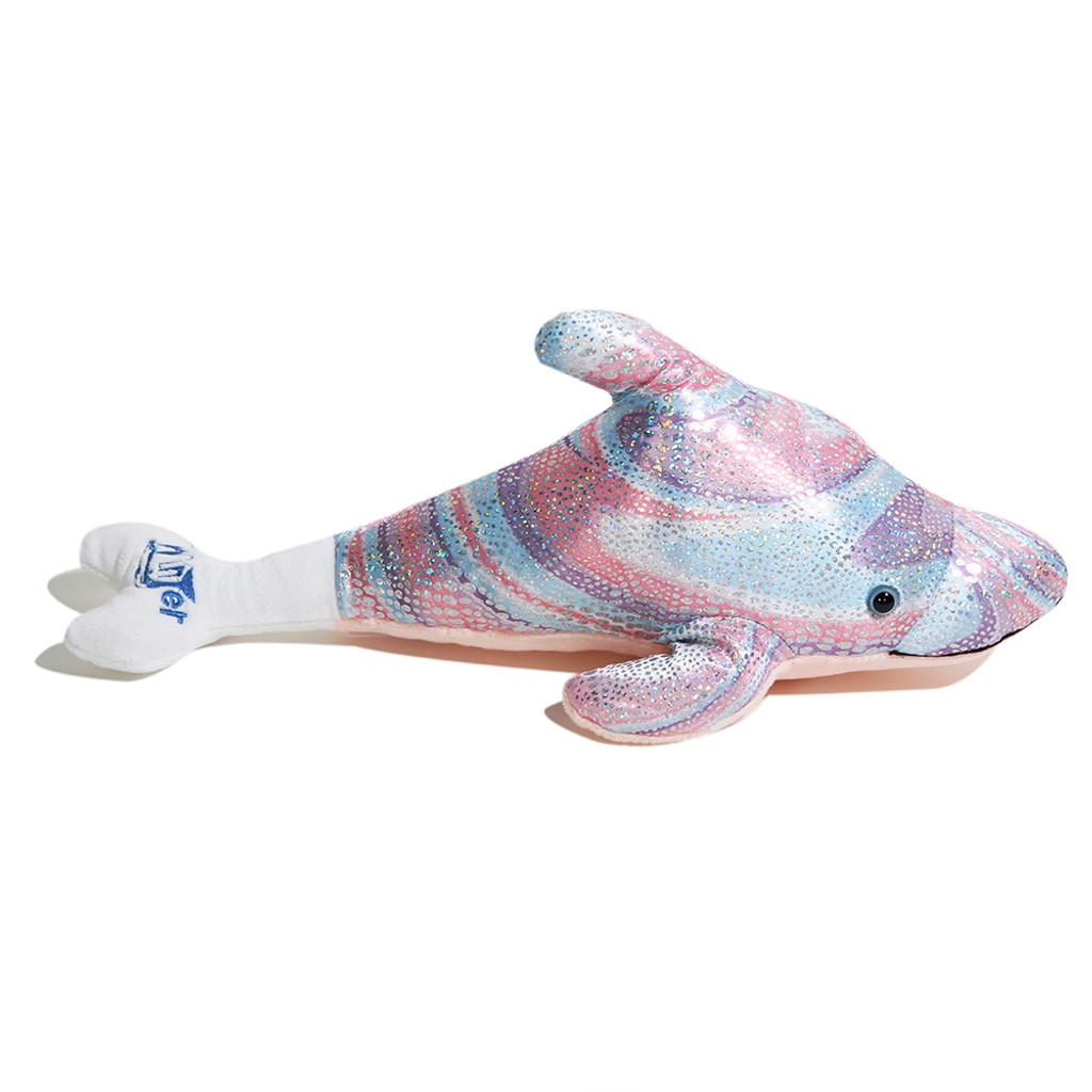 Dolphin Tale 2 Winter the Dolphin Pink Sparkle Plush
