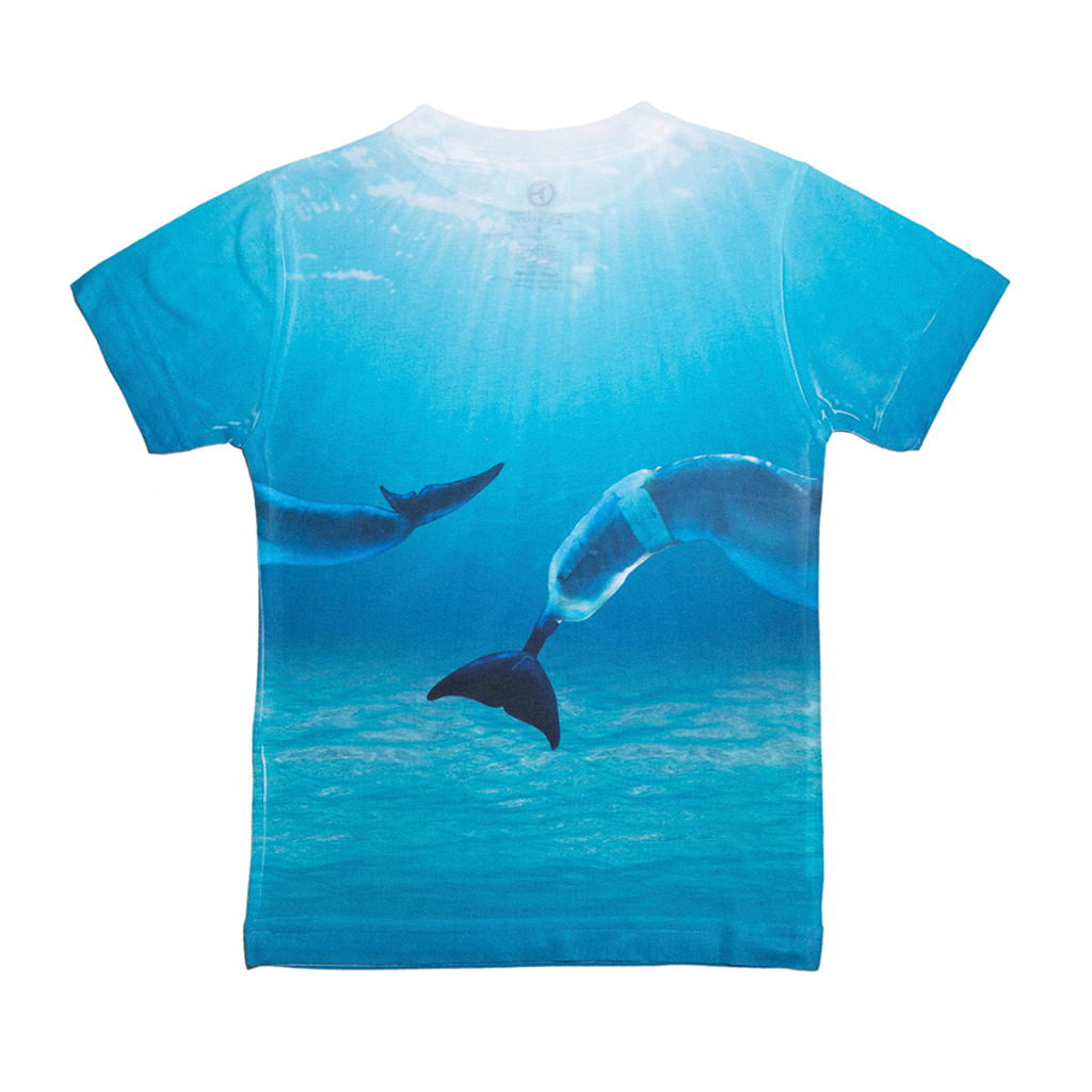 Dolphin Tale 2 Underwater Winter & Hope Girls' Tee