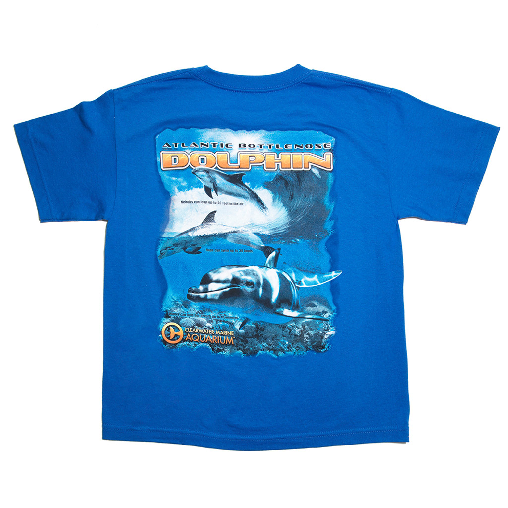 Clearwater Aquarium Dolphin Team Boy's Tee