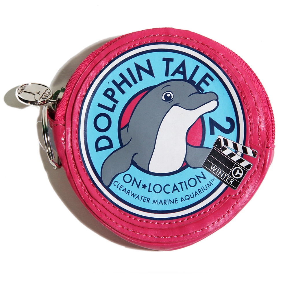 Dolphin Tale 2 On Location Coin Purse - Pink