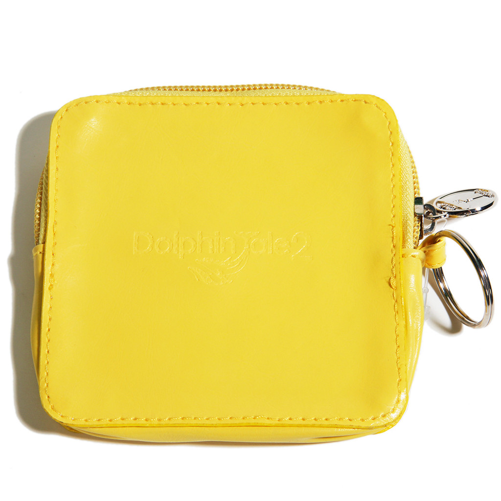 Dolphin Tale 2 On Location Coin Purse - Yellow