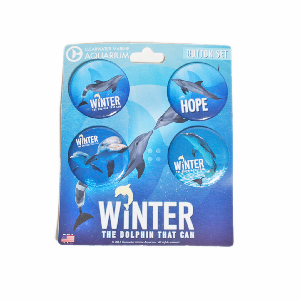 Winter & Hope 4-Piece Button Collection