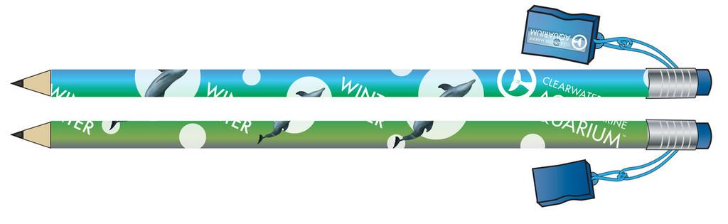 Winter the Dolphin Jumbo Pencil