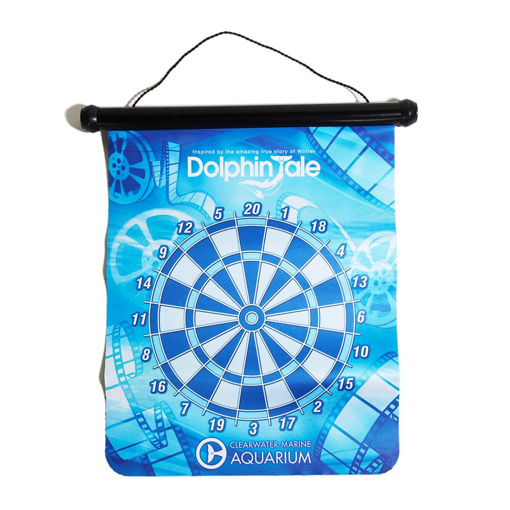 Dolphin Tale Magnetic Dart Board Set