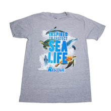 Rescue Clearwater Protect Sea Life Boys' Tee