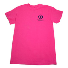 Clearwater Marine Aquarium Logo Adult Tee - Pink