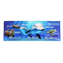 Clearwater Marine Aquarium Residents Rectangle Magnet