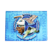 Clearwater Marine Aquarium Residents Rescue, Rehab & Release Rectangle Magnet