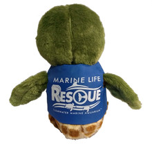 Bailey the Turtle Marine Life Rescue Plush with Life Vest