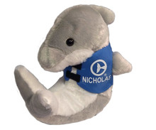 Nicholas the Dolphin Marine Life Rescue Plush with Life Vest