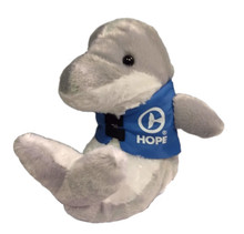 Hope the Dolphin Marine Life Rescue Plush with Life Vest