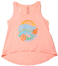 Clearwater Marine Aquarium Retro Hibiscus Girls' Tank