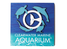Clearwater Marine Aquarium Family 3D Wooden Magnet
