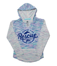 Rescue Baja Cotton Candy Youth Girls Hoodie