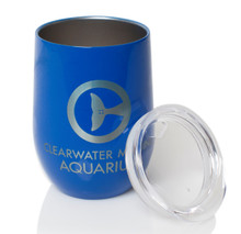 Clearwater Marine Aquarium Stainless Steel Insulated Wine Cup