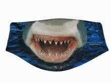 Clearwater Marine Aquarium Face Mask - Shark Jaws