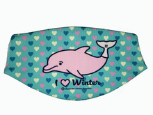 Clearwater Marine Aquarium Face Mask - I Love Winter