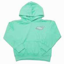 Clearwater Marine Aquarium I Love Winter Fleece Pullover Hoodie - Youth - Mint