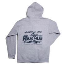 Clearwater Marine Aquarium Rescue Fleece Zip Up Hoodie