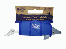 Winter The Dolphin Replica in Marine Life Rescue Stretcher