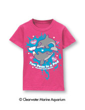 Winter & Hope Two Peas In A Pod Toddler's Tee