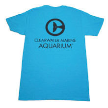 Clearwater Marine Aquarium Logo Men's Tee - California Blue