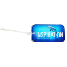 Winter the Dolphin Inspiration Luggage Tag