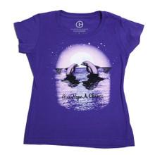 Dolphin Tale 2 Winter & Hope Moonlight Swim Girls' Tee